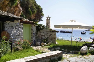 beach house damma mia in pelion
