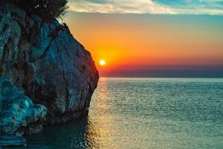 location damma mia romantic sunset