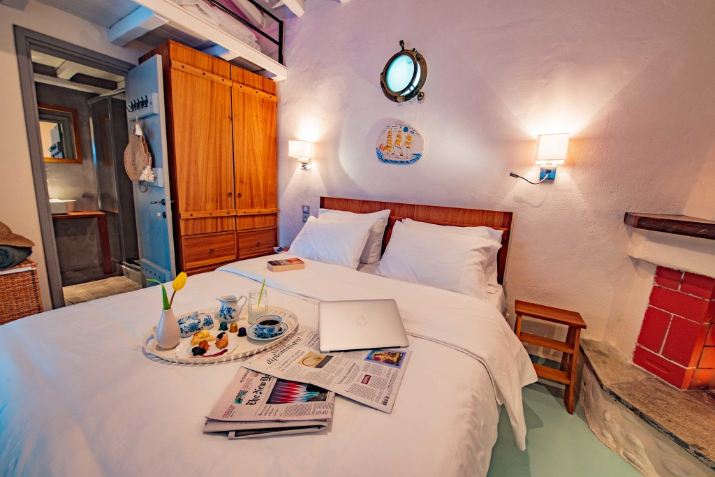 villa damma mia double bedroom