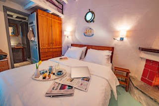 villa damma mia double bedroom